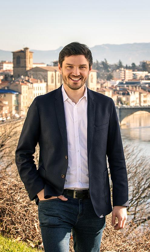 Thomas Huriez - Tête de liste Passionnément Romans - Elections Municipales Mars 2020 à Romans-sur-Isère